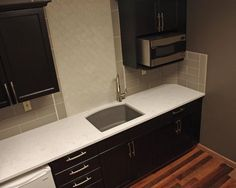 Cambria Quartz Countertop Torquay White Kitchen