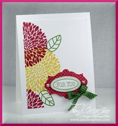 Blog Party Make-n-take for Today by SandiMac - Cards and Paper Crafts at Splitcoaststampers