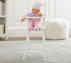 Baby Doll High Chair #pbkids