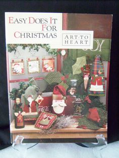 Quilt Book Easy Does It For Christmas Art to Heart Booklet Nancy Halvorsen.#quilts $12.97 FREE SHIP