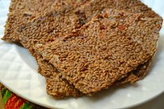 Sun-Dried Tomato Flax Crackers and my dehydrator recommendations|Gluten-Free Cat