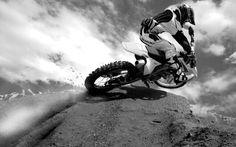 Sport bike riding
