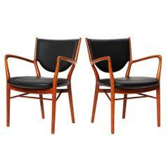 Early NV 46 Armchairs by Finn Juhl