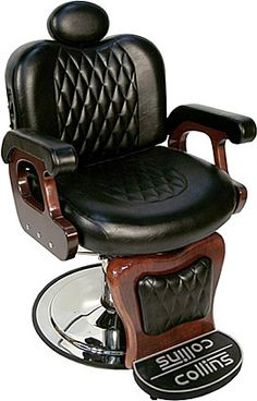 Collins Commander Barber Chair - Home Furnishing.