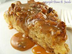 The Gluten Free Farmer's Daughter: Bed & Breakfast Caramel Apple Skillet Cake