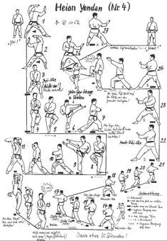 "The original description called this ""Heian Yondan Kata"" but in Tang Soo Do, this is called Pyang Ahn Sa Dan. I thought this was interesting!"