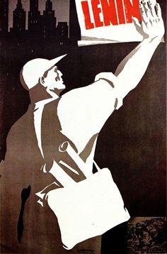 Lenin design by Veneamin Briskin (1970)