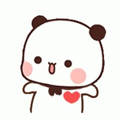Panda Gif, Animated Gif, Hello Kitty, Gifs, Animation, Stickers, Comic, Animation Movies, Presents