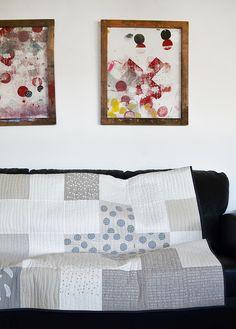 custom king quilt by leslie keating