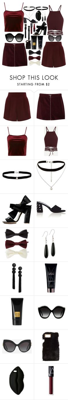 """Gemini"" by jennyjump ❤ liked on Polyvore featuring Topshop, MANGO, Amanda Rose Collection, New Look, Delpozo, Barneys New York, Forever 21, Yves Saint Laurent, Tom Ford and Gucci"