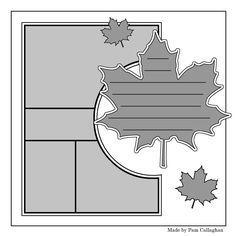 Scrapbook layout                                                                                                                                                                                 More #scrapbooktips
