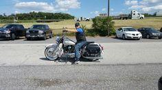 Dave and his Harley-Davidson