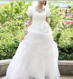 http://image.made-in-china.com/2f0j00nMFaJlSPMCuI/Cap-Sleeve-Organza-Bridal-Wedding-Dress.jpg