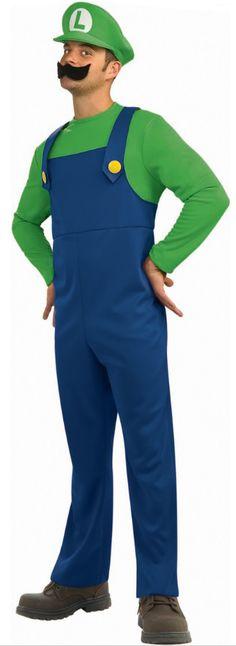 Uma das favoritas: Luigi #fantasias #menswear #dashausmann #carnaval