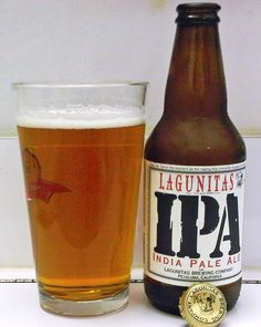 Lagunitas Brewing Company IPA. I never know with the IPAs find some delicious and some too bitter. This one was not to bitter but only ok flavor to my taste. I'll drink it again IF it's on special at my local little pub again.