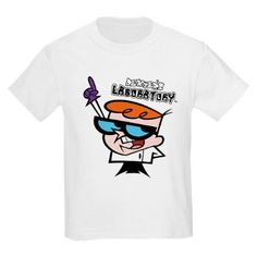 Dexter's Laboratory: Kids Light T-Shirt    Mix it up in Dexter's Laboratory T-Shirts and Gifts from Cartoon Networks Children's TV Show.
