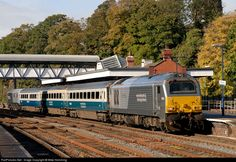 RailPictures.Net Photo: 67 014 EWS Railway EWS 67 at Wellington, United Kingdom by Mike Hemming