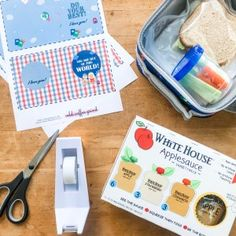 Add a cute note to your kiddos lunches with this printable!