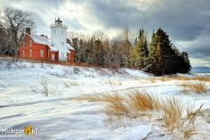 40 Mile Point Lighthouse, Rogers City, Michigan