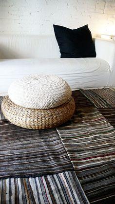 Vintage Moroccan Patchwork old kilim rug por lacasadecoto en Etsy, €275.00