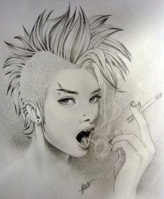 Punk by sfantoo (via dopeart)