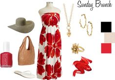 Sunday Brunch, created by carisimastyle on Polyvore