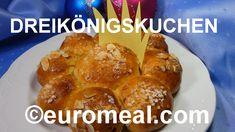 Brauchtumsgebäck 6. Jänner Dreikönigstag French Toast, Breakfast, Food, Almonds, Christmas Time, Xmas, Food Food, Simple, Baking