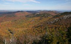 Vue de la crête, Jay Mountain, Adirondacks, octobre 2016 Jay, Mountains, Nature, Travel, Upstate New York, Naturaleza, Viajes, Destinations, Traveling