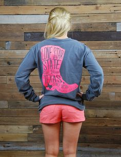 Show your LOVE for the amazing LONE STAR STATE in this new long-sleeve t 4e8cef0c2
