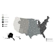 Eastern Time Zone Map MIINOHWVVANCSCGAFLNYPADLNJDE - Us time zone map black and white
