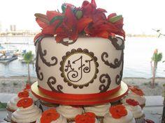 Frazier Wedding Cake | Flickr - Photo Sharing!
