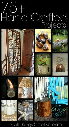 75+ Hand Crafted Projects - Redhead Can DecorateRedhead Can Decorate