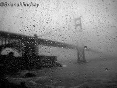 San Francisco Bay, rainy day