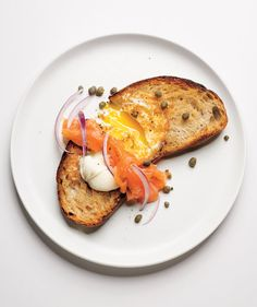 Egg in a Hole With Smoked Salmon | Wake up to a protein-packed breakfast with these quick and easy recipes starring the incredible, edible egg.