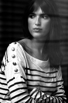 Stripes icon - The Shoppeuse French Girl Style, French Girls, French Chic, My Style, Jeanne Damas, Leon Harper, Bon Look, Style Parisienne, Breton Stripes