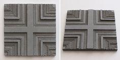 Concrete Relief Tiles | Series ii on Behance MODEL 5.d