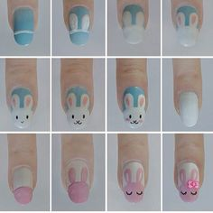 How to: Bunny nails