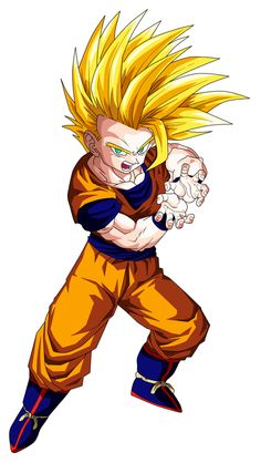 Gohan Super Saiyan 2 (teen) by OriginalSuperSaiyan on @DeviantArt