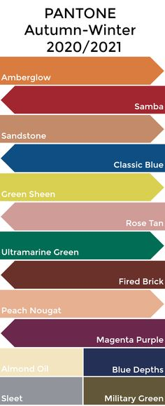Pantone Colour Palettes, Pantone Color, Fall Color Palette, Colour Pallete, Winter Colors, Spring Colors, Paleta Pantone, Look Dark, Pantone 2020