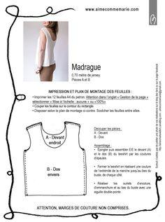 Le blog de Marie : créatrice de la marque aime comme Marie. Patron de couture : femme, homme et enfant. Mais aussi : tutos couture gratuits.