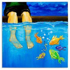 80 x 80 cm, ca. 3,8 cm tief, Baumwollgewebe (350 g/m²) Leinwand auf Keilrahmen. Gemalt wurde mit hochwertigen Acrylfarben.  http://www.bulentkilic.com/