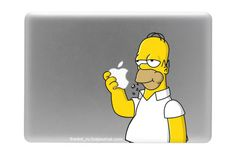Homer Simpson MacBook Skin