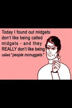 People mcnuggets lol!
