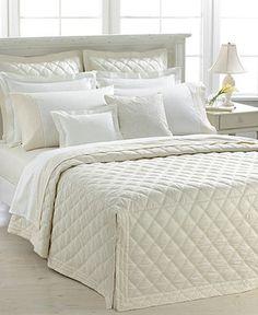 Lauren Ralph Lauren Bedding, Suite Diamond Collection - Quilts & Bedspreads - Bed & Bath - Macy's