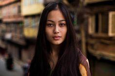 Девушка из Катманду Kathmandu, Nepal