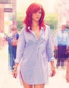Rihanna. Favorite female artist