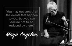 Words of Wisdom to celebrate International Women's Day  #MakeItHappen #women #feminism #quotes #mayaangelou