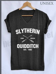 Slytherin Quidditch Shirt Harry Potter Shirts by iNakedapparel