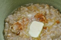 Crockpot Oatmeal | Tasty Kitchen. I make this every other week, chuck a ton of fresh apples in it, and I have oatmeal for almost two weeks. Reheats perfect.