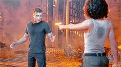 "Rafe: ""Nadine stop screwing around--  (Gun shooting)  Rafe: ""JESUS!!"""